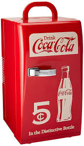 amazon com coca cola ccr 12 retro fridge red compact