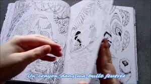 présentation du livre peter pan coloring book par fabiana