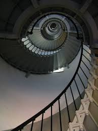 stairs inside ponce inlet lighthouse