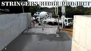 stringers ridge project vlog 5 prep and pour basement
