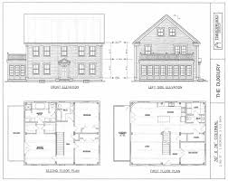 colonial house design post beam house plans and timber frame drawing packages by