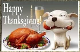 happy thanksgiving with turkey leg animated gif thanksgiving