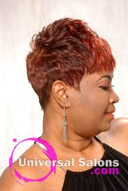 short spiked hair cut for black women from dre u0027 ramseur