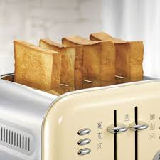 Cream 4 Slice Toaster Morphy Richards 4 Slice Accents Toaster Cream And Accents