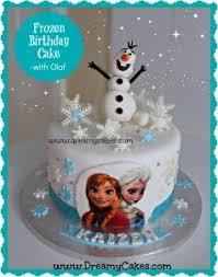 frozen cakes birthday party ideas