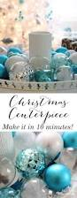 Decorating Your Home For The Holidays 10 Minute Christmas Centerpiece Tray Setting For Four