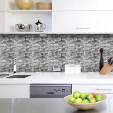 Interior Design Striking Peel N Stick Backsplash Design With