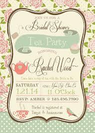 vintage bridal shower invitations vintage tea party bridal shower invitations dhavalthakur
