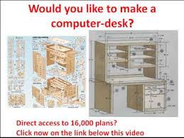 Computer Desk Plan Computer Desk Would You Like To Make A Computer Desk