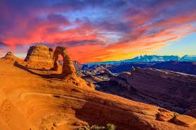 6 day yellowstone national park arches national park mt
