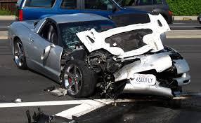 corvette crash corvette crashes while allegedly racing in ca