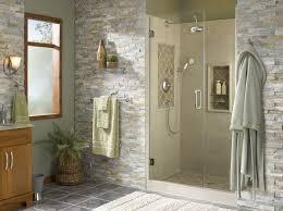 design impressive natural stone bathroom shower designs natural