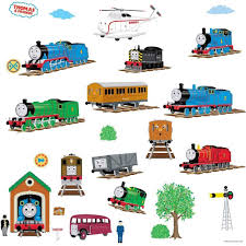 roommates rmk1035scs thomas tank engine and friends peel and
