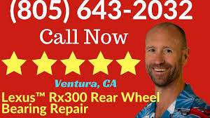 lexus rx300 maintenance schedule rear wheel bearing cracked repair lexus rx300 ventura ca youtube