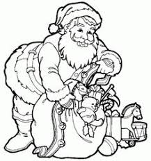 free printable christmas coloring sheets santa hand