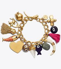 charm bracelet jewelry images Tory burch charm bracelet women 39 s view all jewelry tory burch