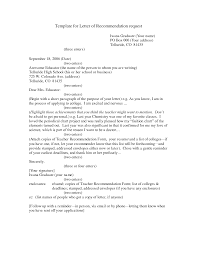 graduate recommendation letter template 100 images