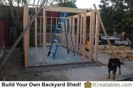 How To Build A Shed Roof House by How To Build A Shed Storage Shed Building Instructions