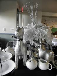black and silver table decoration decoration picture