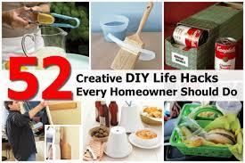 diy hacks home 52 creative diy life hacks every homeowner should do