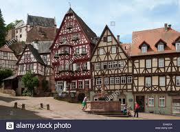 A Framed Houses by Timber Framed Houses High Street Old Town Of Miltenberg