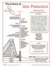 san francisco history worksheet education com