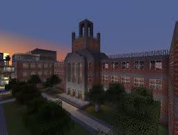 Minecraft New York Map by Forest Hills High Minecraft Project