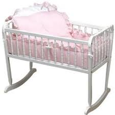 Doll Crib Bedding Scalloped Baby Cradle Babies Crib And Nursery