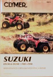 suzuki monster truck cm475 85 88 suzuki lt ltf230g s 89 90 lt250s repair
