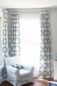 Tab Curtains Pattern Easy Back Tab Curtains