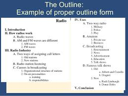 Example of executive summary for research paper
