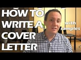 how to write a good cover letter for a job application with no