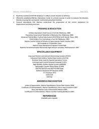 Government Contractor Resume Fire Chief Resume Free Resume Example And Writing Download
