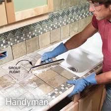 kitchen tile countertop ideas installing tile countertops family handyman