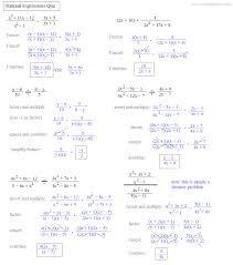 rational expressions worksheet worksheets releaseboard free