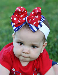 4th of july headband pink bowtique pinkbowtique patriotic baby headbands