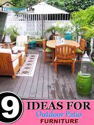poolside furniture ideas 9 ideas for outdoor patio furniture diy home life creative