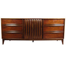 mid century louvered front dresser by thomasville at 1stdibs