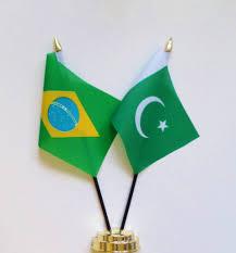 Pakistan Flag Picture Brazil U0026 Pakistan Friendship Table Flag
