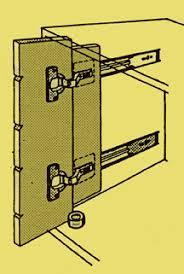 cabinet pocket door slides sd1563a gif