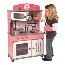 cuisine enfant en bois cuisiniere pour enfant topiwall