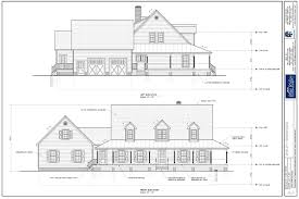 colonial house plan first floor master house plans 14371