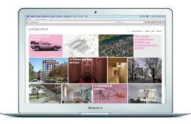 architektur homepage website loeliger strub architektur heuss creative consulting