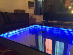 Infinity Mirror Desk Infinity Mirror Table The Easy Version 6 Steps With Pictures