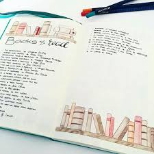 bullet journal a books read page pen u0026 pages pinterest