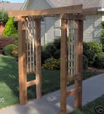 Wedding Arch Ebay Uk New Japanese Style Cedar Wood Garden Arbor Pergola Arch Garden