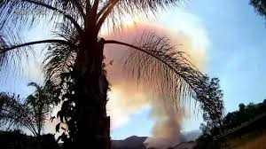 Wildfire Anderson Ca by Lake Elsinore Ca Wildfire Youtube