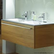 java designer double sink bathroom vanity unit main image double