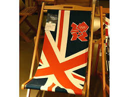 British Flag Furniture 25 Best by New Official 2012 London Olympics Union Jack Flag Deckchair Sling
