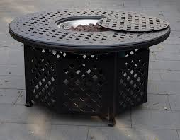 48 Inch Fire Pit by Dl30 Q B Darlee Classic Antique Bronze 48 Inch Round Propane Fire